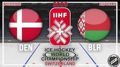Denmark - Belarus 🏆 Main round ★ 2020 IIHF Ice Hockey World Championship
