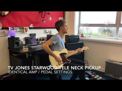 TV Jones Starwood Telecaster pickup installation