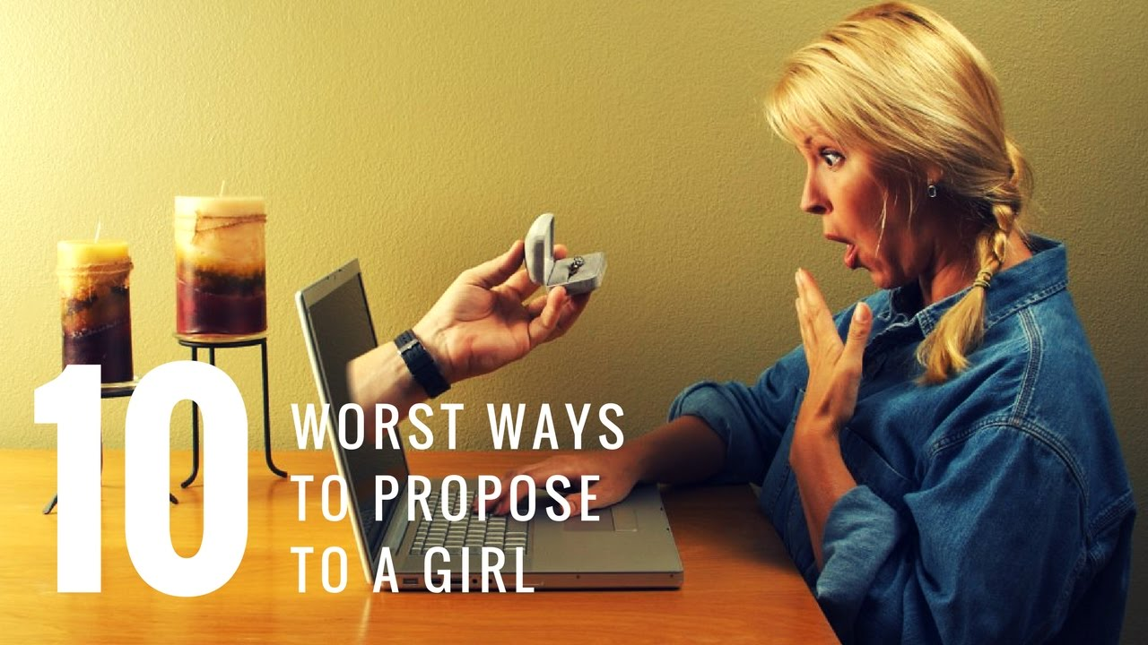 Fail! The 10 Worst Ways to Propose. How NOT To Propose ...