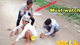 Must Watch Funny 🤣🤣 Comedy Video ||  full Suspende Video
