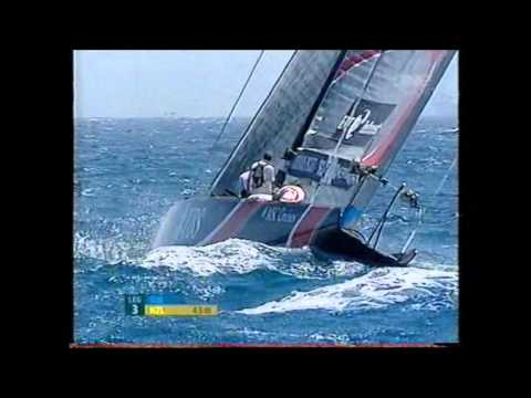 2007 America's Cup Race 7 - Alinghi's Defense