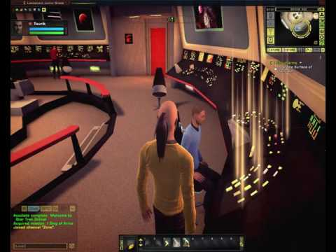 Star Trek Online PC - Starting a Character in the 23rd Century & First Mission on Taurus II