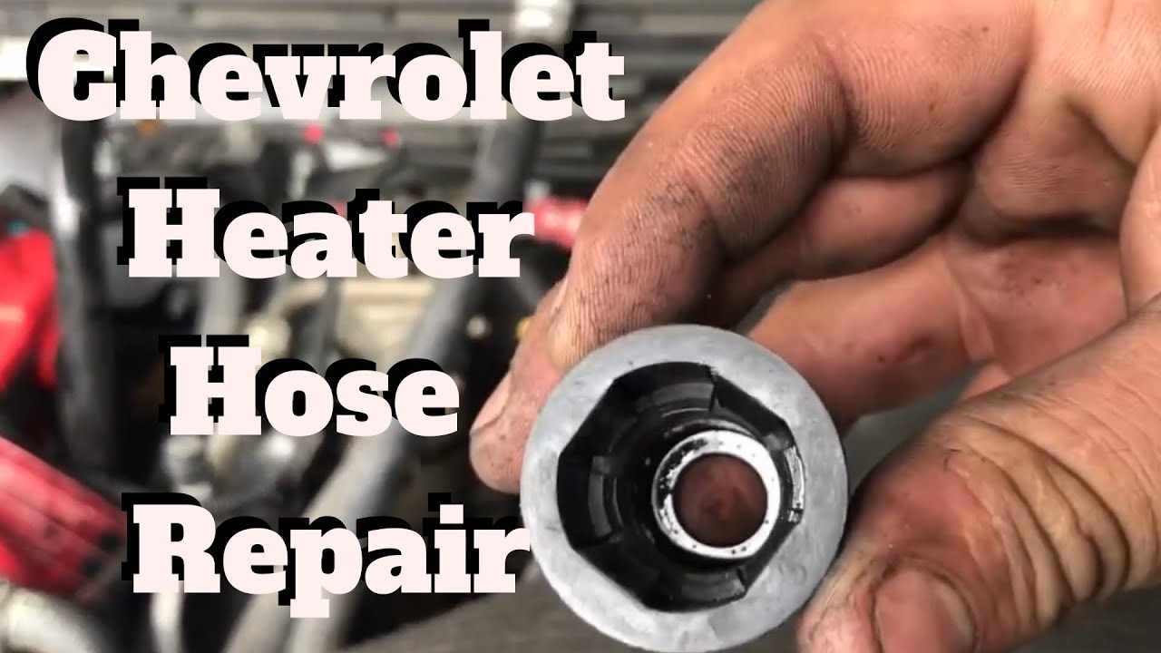 medium resolution of how to remove a heater hose quick connect on a gm