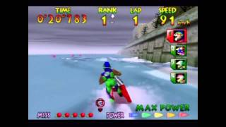 Wave Race 64 - Expert Playthrough (Actual N64 Capture)