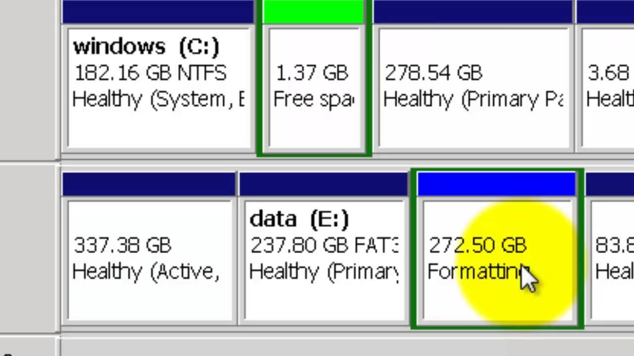 Harde Schijf Splitsen Windows 7.Partitioneren Harde Schijf Windows 7