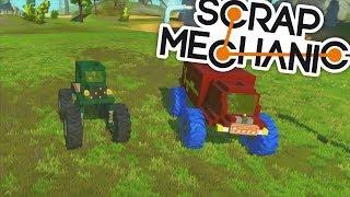 ULTIMÁTNÍ MONSTER TRUCKY! - Scrap Mechanic! #8 w/Porty