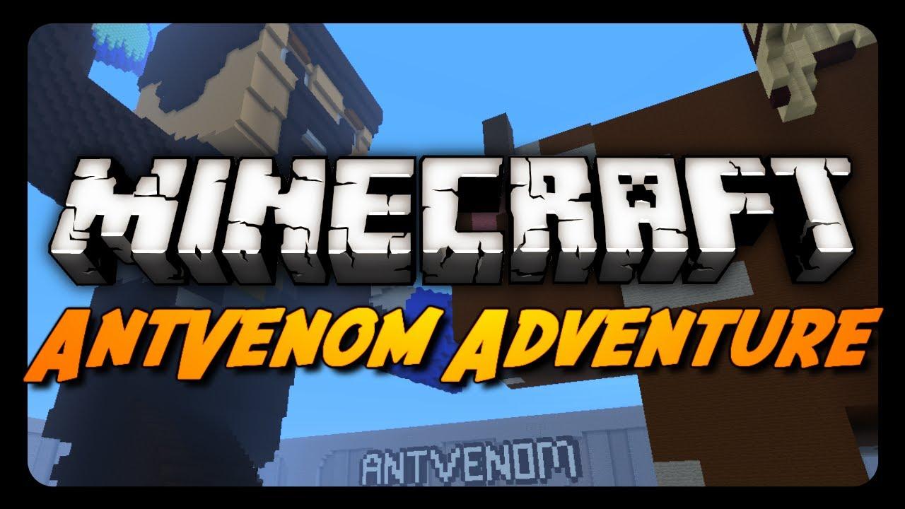 Minecraft Maps The Antvenom Adventure Map Part 1