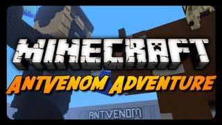 Minecraft Maps - The AntVenom Adventure Map! - Part 1