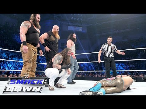 Thumbnail: The Wyatts vs. Lucha Dragons & Prime Time Players - Survivor Series Match: SmackDown, Nov. 5, 2015