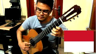 Nusantara in D - Classical Fingerstyle Guitar - Stafaband