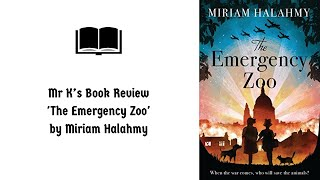 Book Review - The Emergency Zoo' by Miriam Halahmy thumbnail