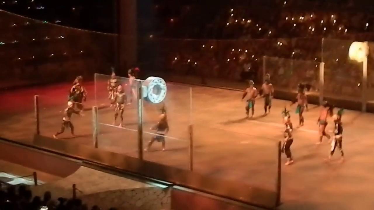 Mayan ball game (part 2) - Xcaret Mexico Espectacular show