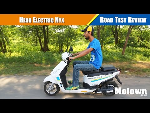 Hero Electric Nyx | Road Test Review