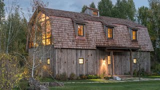 Old Hay Barn Converted To A Modern Guest House - Amazing Pictures!