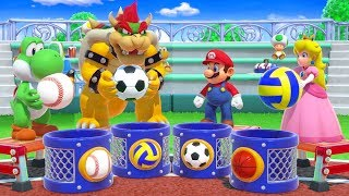 Super Mario Party - All Co-Op Minigames