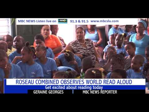 :ROSEAU COMBINED OBSERVES WORLD READ ALOUD DAY