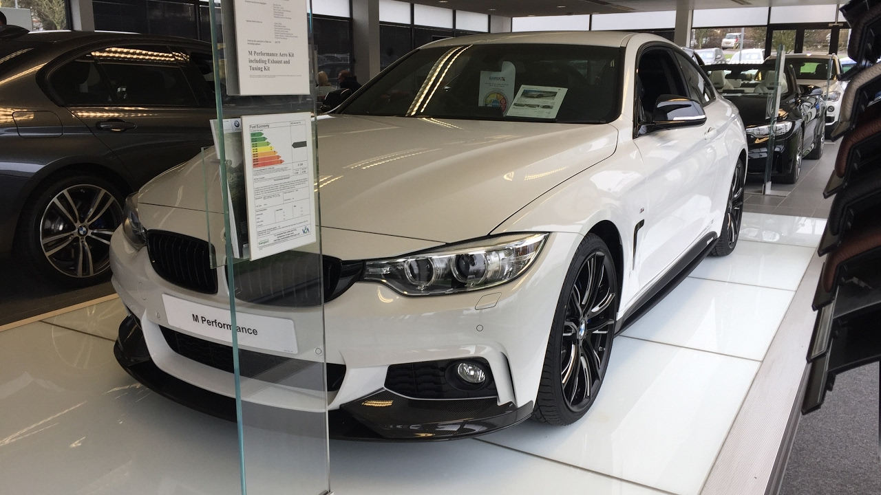 2017 bmw 440i 4 series f32 m performance aero carbon kit exterior and interior review youtube. Black Bedroom Furniture Sets. Home Design Ideas