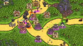 Play Online Kingdom Rush Frontiers Game - LOST JUNGLE