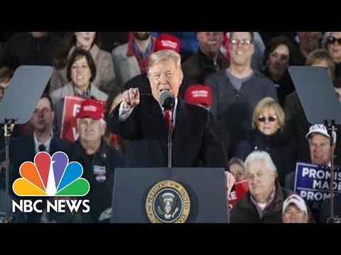 Watch Live: President Donald Trump Holds Campaign Rally In Biloxi, MS   NBC News