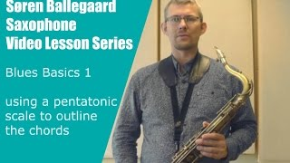 Blues basics 1   chord outline with a pentatonic scale