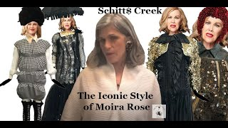 The Iconic Style of Moira Rose from Schitt$ Creek #losangeles #vintage #fashion #danlevy #designer