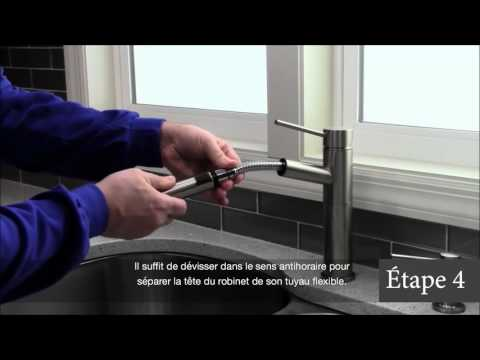 Comment Remplacer Le Tuyau Flexible D Un Bec Retractable 10