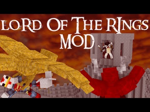 The Hobbit Mod: Minecraft Lord of The Rings Mod Showcase!