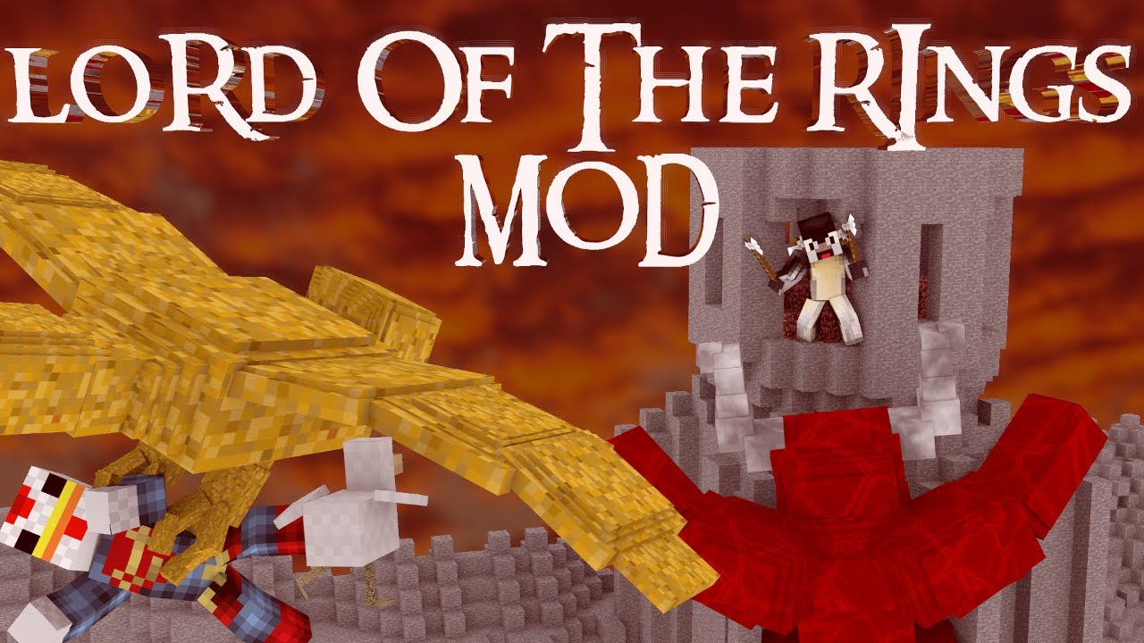 The Hobbit Mod Minecraft Lord Of The Rings Mod Showcase YouTube