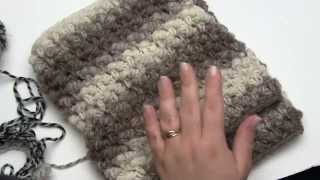 How to Crochet: Split Bullion Stitch and Squish (Right Handed)
