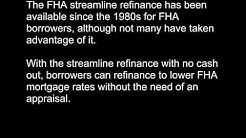 FHA Streamline Mortgage Refinance Now Has LOWER Fees and Rates!