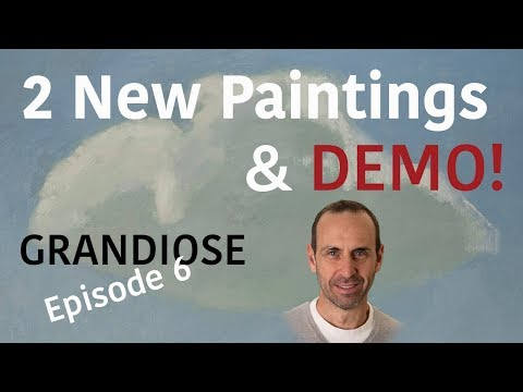 Painting Demo! The GRANDIOSE Project – (Episode 6)