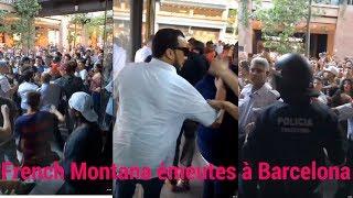 French MONTANA Provoque Une ÉMEUTE Géante À Barcelona!!