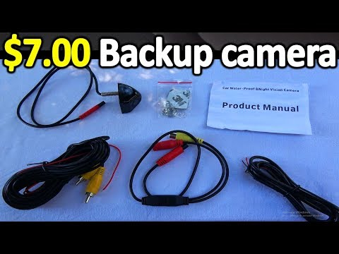 How to Install a BACKUP CAMERA in Your Car ( Do It Yourself guide )