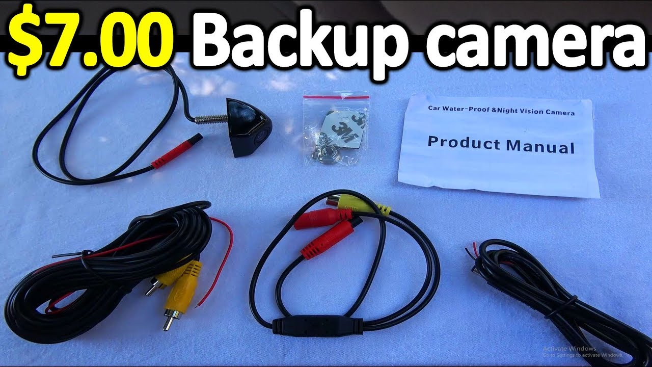 How to Install a BACKUP CAMERA in Your Car  YouTube