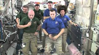 NASA Video Tube - ISS Change of Command Marked by Ceremony