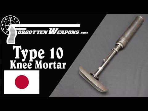 Japanese Type 10 Light Grenade Projector aka Knee Mortar