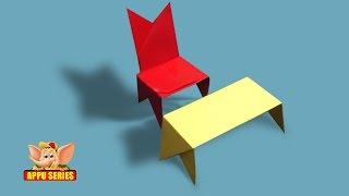 Learn to Kirigami a Mini Chair