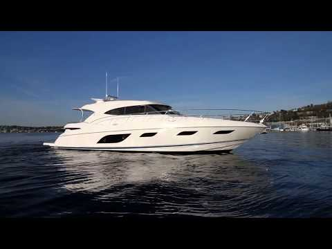 2016 Riviera 600 Sport Yacht with IPS offered for $1,995,000 in Seattle