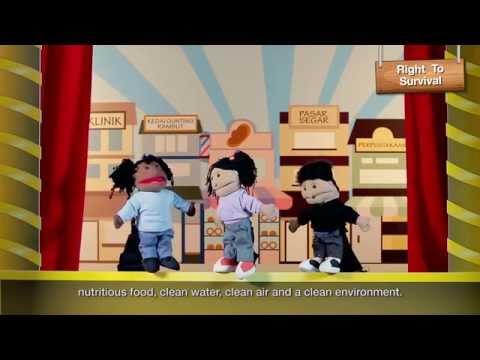 Hello children - Learn about children's rights!