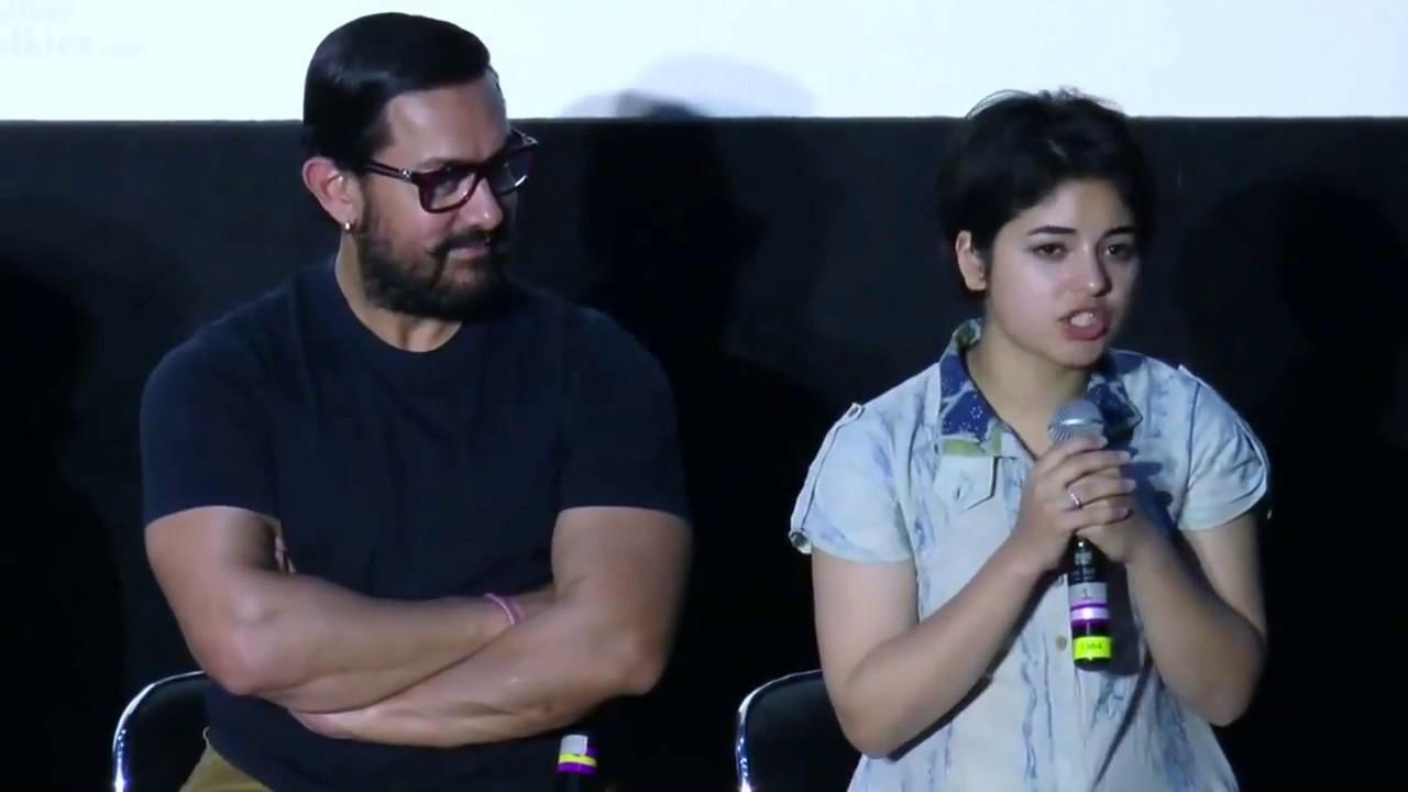 Download CUTE Girl zaira Who Is Acting In Aamir Khan s Secret Superstar   Dangal Movie   Zaira