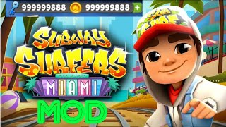 💯Subway Surfers Miami MOD+Apk ( Everything Unlimited )
