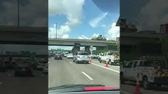 Dump truck accident in Orlando Florida 06/12/18