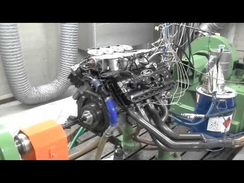 Cosworth DFV V8 F1 3L - Prova motore al banco