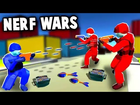 NERF WAR! Epic Battles Using NERF Blaster Arsenal (Ravenfield Nerf Mod  Gameplay)