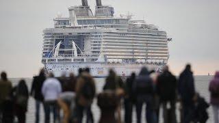 Dünyanın En Büyük Gemisi İlk Seferine Çıkıyor