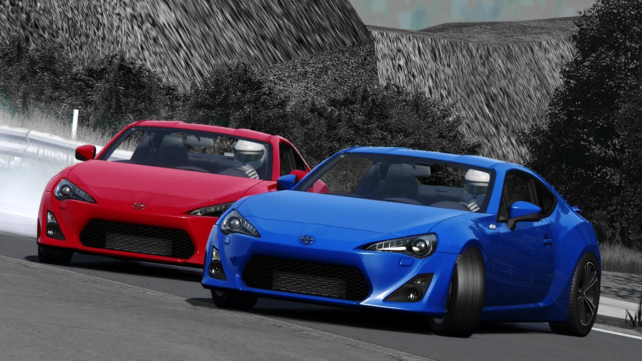 Assetto Corsa Drift Assetto Corsa Toyota Gt86 Tandem Drift Playground Youtube