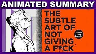 F*A ck vermiyorum, Mark Manson   Tarafından İnce Sanat Özet Animasyon
