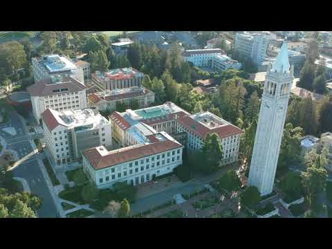 Unofficial UC Berkeley central campus aerial footage from DJI Spark