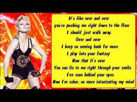 Madonna - Devil Wouldn't Recognize You (BV) Karaoke / Instrumental with lyrics on screen