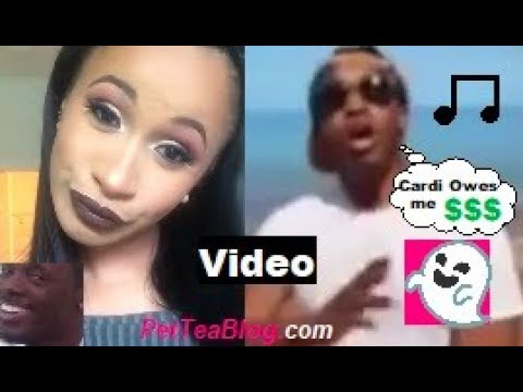 Cardi B Checks Ghostwriter who says she Owes Money for Verse he was...